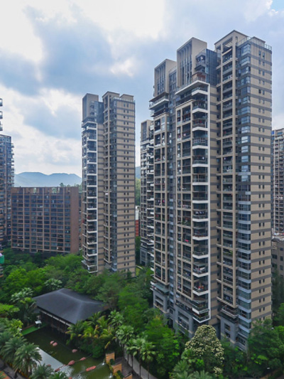 乐奇智能公寓案例分享:深圳新世界四季山水