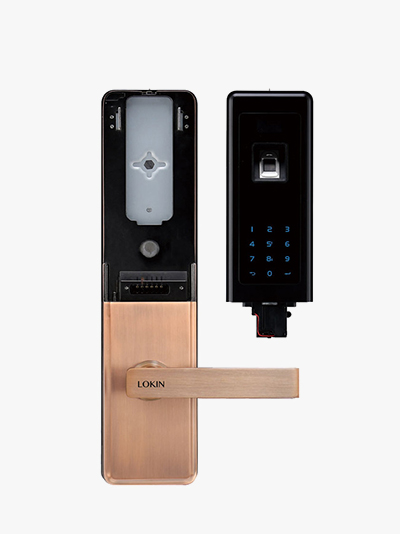 中山科技公司合作模块化指纹锁案例