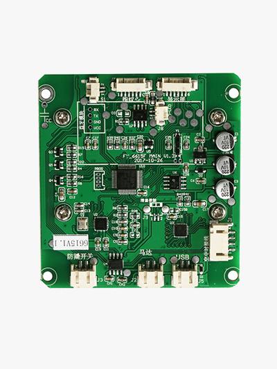 东莞科技有限公司与乐奇合作感应卡密码门锁电路板案例