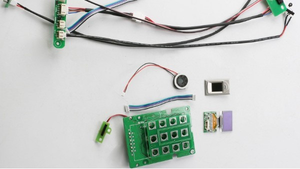 科普篇丨智能锁电子线路板上的电子元件字母代表含义