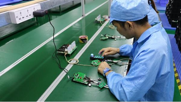 智能锁电子线路板的故障检测方法